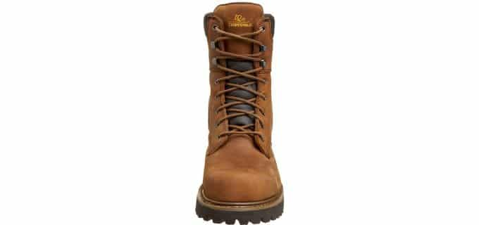 Chippewa Men's Logger - Industrial Steel Toe Wide Width Work Boot