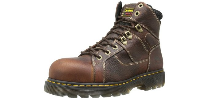 Dr. Martens Men's Iron Bridge - Wide Steel Toe Workboot