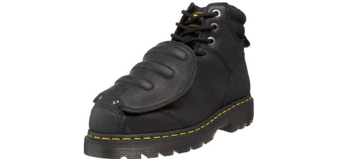 Dr. Martens Men's Ironbridge - Steel Toe Metal Guard Work Boot
