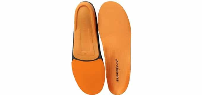 Superfeet Men's Orange - Premium Work Boot Insoles