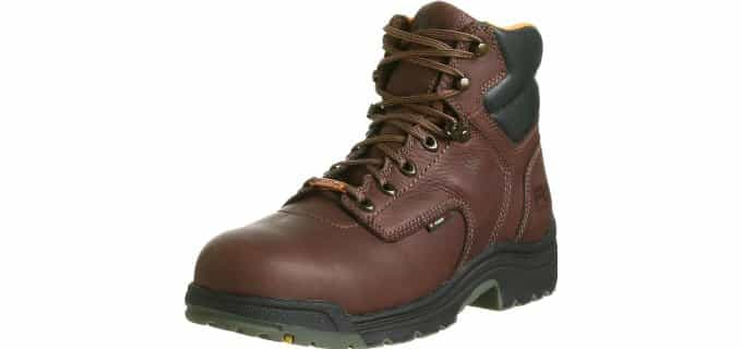 Timberland PRO Men's Titan - Waterproof Safety Toe Work Boots