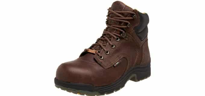 Timberland PRO Women's Titan - Comfy Waterproof Work Boots