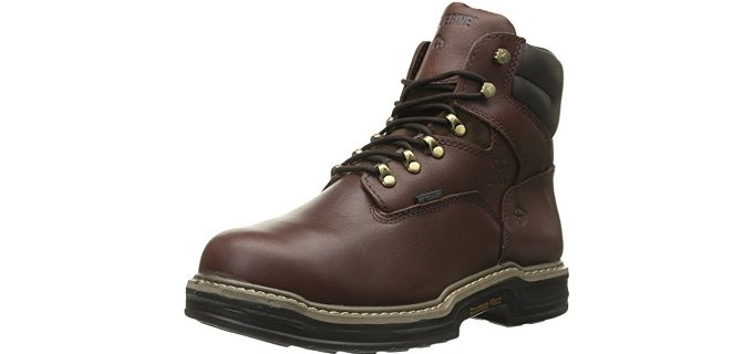 Wolverine Men's Darco - 6 Inch Steel Toe Waterproof Work Boot
