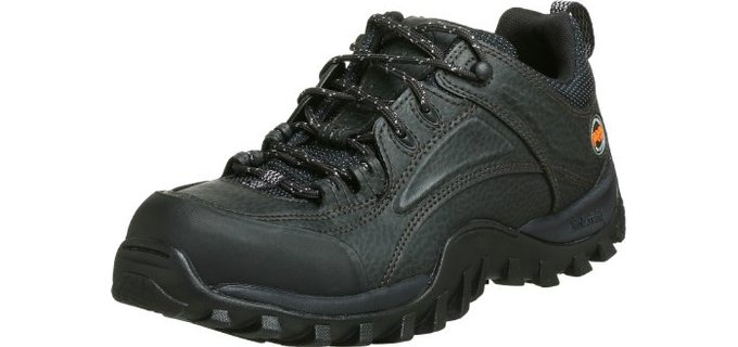 Timberland Men's Pro - Mudsill Steel Toe Lace Up Landscaping Shoes