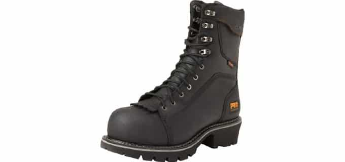 Timberland PRO Men's Rip Saw - Comp Toe Logger Work Boot