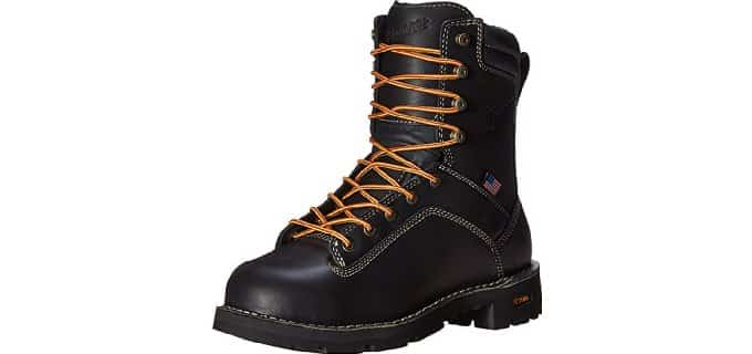 Danner Men's Quarry USA - 8 Inch Non-Conductive Work Boot