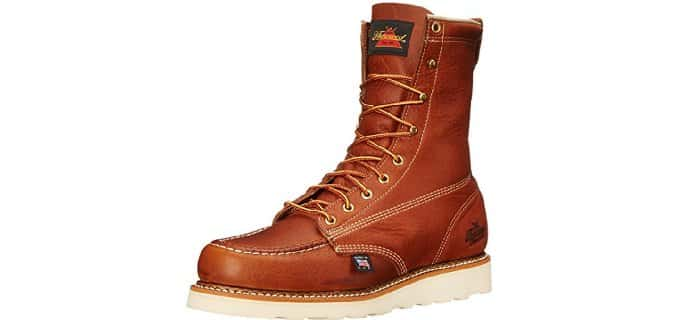 Thorogood Men's American Heritage - 8 Inch Moc Toe Lace-Up Workboot
