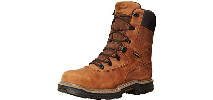 Wolverine Men's Marauder Contour - Insulated Winter Steel Toe Work Boot