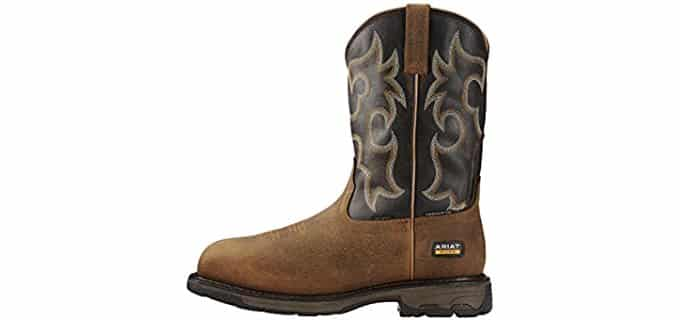 Ariat Men's WorkHog - 6 Inch Waterproof and Insulated Composite Toe Work Boot