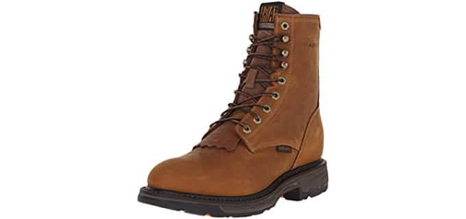 Ariat Men's Workhog - Shock Absorbent Lace-Up Workboot