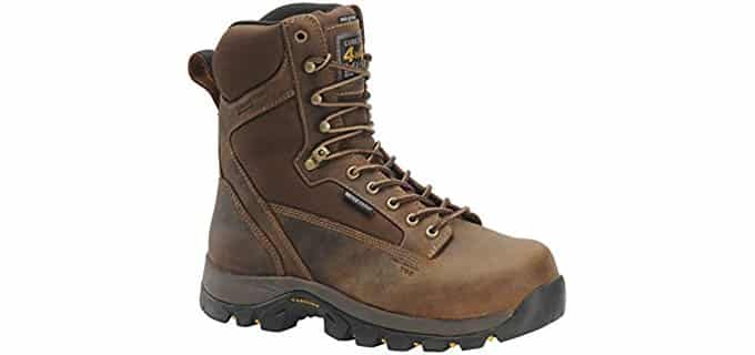Carolina Men's 8-Inch 4x4 - Waterproof Insulated Work Boots