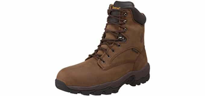 Chippewa Men's 55168 IQ-8 - Waterproof Insulated Composite Toe Work Boot