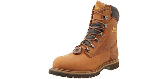 Chippewa Men's 55069 - Steel Toe Comfortable Winter Boots