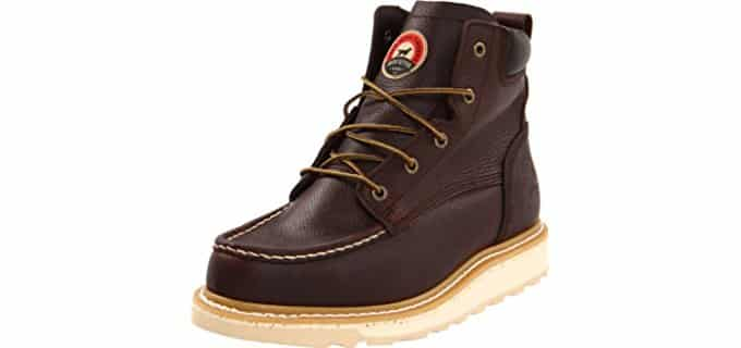 Irish setter Men's 83605 - 6 Inch Wedge Sole Work Boot
