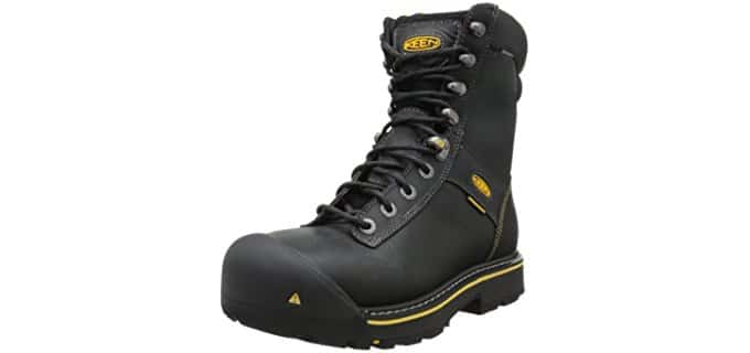 Keen Utility Men's Wenatchee - Affordable 8 Inch Steel Toe Work Boot