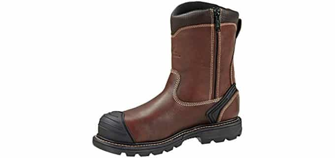 Thorogood Men's Plain Wellington - Composite Toe Electrical Hazard Safety Boot