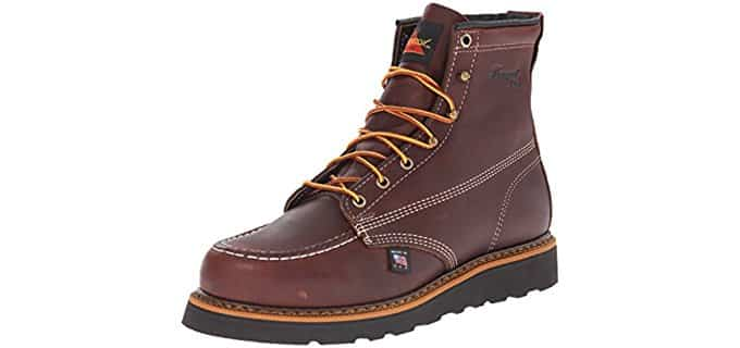 Thorogood Men's Wedge - Moc Toe Non-Safety Boot