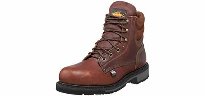 Thorogood Men's American Heritage - Steel Toe Comfortable Work Boot