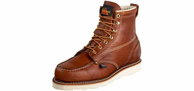 Thorogood Men's 814-4200 American Heritage - 6-Inch Moc Toe Waterproof Work Boots