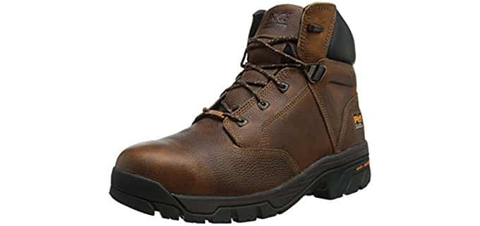 Timberland Pro Men's Helix - Waterproof Work Boots for Plantar Fasciitis
