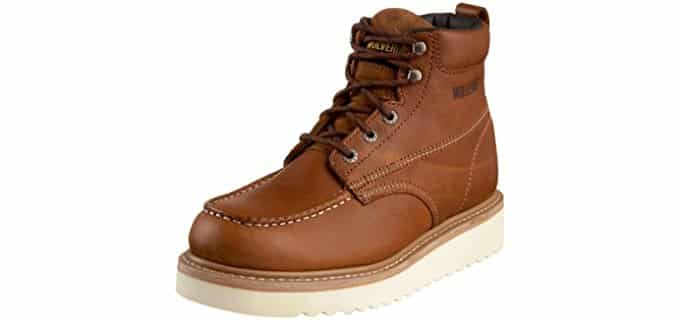 Wolverine Men's W08288 - Moc Toe Wedge Sole Work Boot